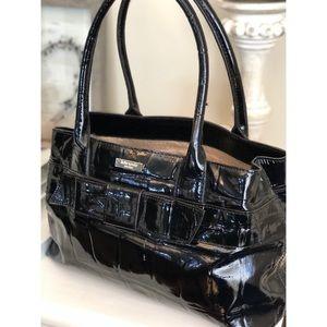Kate Spade Black Patent Leather Bag